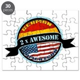German American 2x Awesome Puzzle