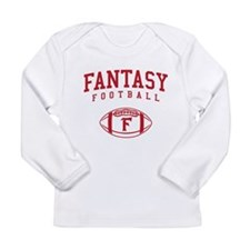 Fantasy Football (Simple) Long Sleeve Infant T-Shi