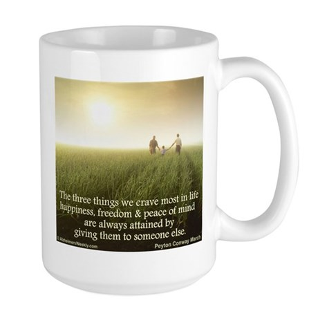 'Giving' Large Mug