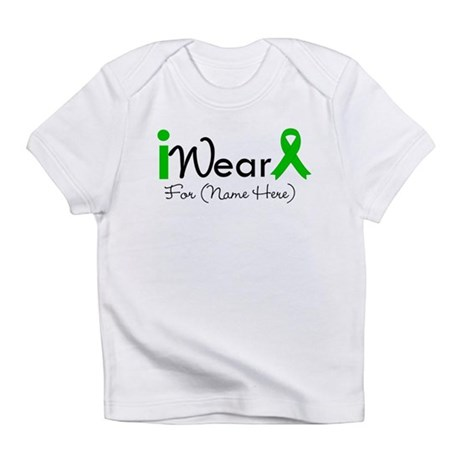Personalize I Wear Green Infant T-Shirt