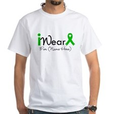 Personalize I Wear Green Shirt
