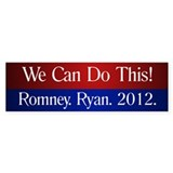 Romney Ryan 2012 Bumper Sticker