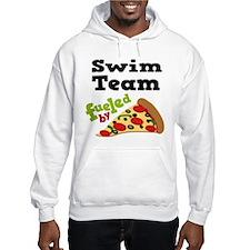 Swim Team Funny Pizza Hoodie