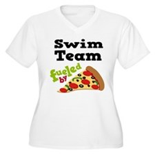 Swim Team Funny Pizza T-Shirt