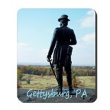 Mousepad - Statue at Little Round Top