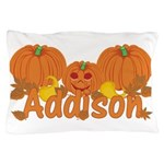 Halloween Pumpkin Addison Pillow Case