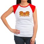 Halloween Pumpkin Addison Women's Cap Sleeve T-Shi