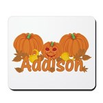 Halloween Pumpkin Addison Mousepad