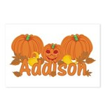 Halloween Pumpkin Addison Postcards (Package of 8)