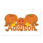 Halloween Pumpkin Addison Postcards (Package of 8)
