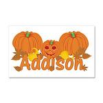 Halloween Pumpkin Addison Car Magnet 20 x 12