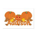 Halloween Pumpkin Addison Mini Poster Print
