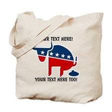 Political BS Personalized Tote Bag