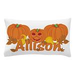 Halloween Pumpkin Allison Pillow Case