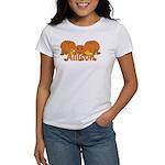 Halloween Pumpkin Allison Women's T-Shirt