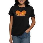 Halloween Pumpkin Allison Women's Dark T-Shirt