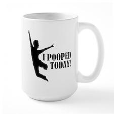 I Pooped Today! Ceramic Mugs