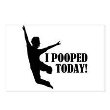 I Pooped Today! Postcards (Package of 8)