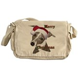 greyhound Italian greyhound Messenger Bag