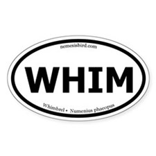 Whimbrel Oval Decal