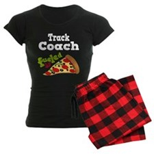 Track Coach Funny Pizza Pajamas