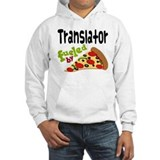 Translator Fueled By Pizza Jumper Hoody