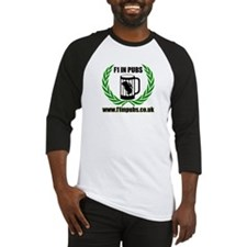 F1 in Pubs logo (with website) Baseball Jersey
