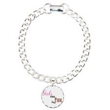 Girls Can Fish too Bracelet