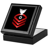 Navy Chief Engineman Keepsake Box