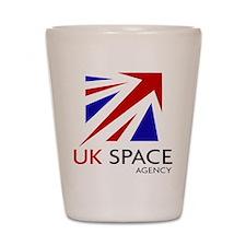 United Kingdom Space Agency Shot Glass