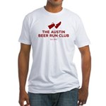 Fitted T-Shirt - I RUN FOR BEER