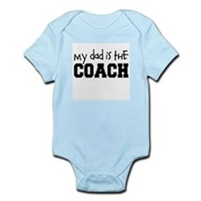 My Dad is the Coach Baby Bodysuit