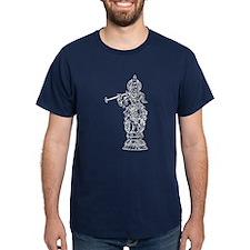 Krishna Outline T-Shirt
