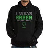 Custom I Wear Green Ribbon Hoodie
