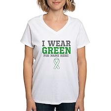 Custom I Wear Green Ribbon Shirt