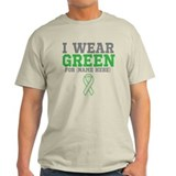 Custom I Wear Green Ribbon T-Shirt