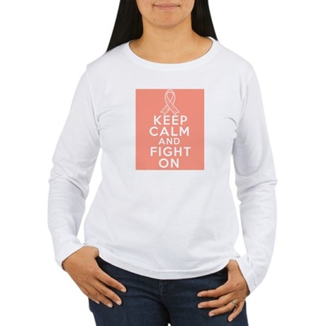 Endometrial Cancer Keep Calm Fight On Women's Long