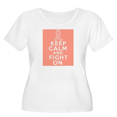 Endometrial Cancer Keep Calm Fight On Women's Plus