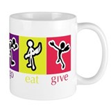 Go Eat Give logo Small Mug
