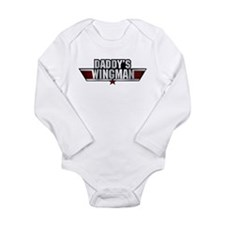 Daddy's Wingman Long Sleeve Infant Bodysuit
