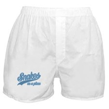 Retro Snakes On A Plane Boxer Shorts