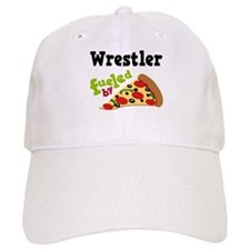 Wrestler Fueled By Pizza Baseball Cap