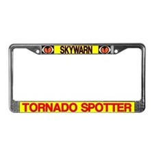 Skywarn License Plate Frame
