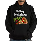 X-Ray Technician Funny Pizza Hoody