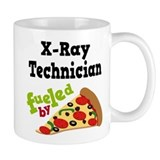 X-Ray Technician Funny Pizza Small Mug