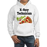 X-Ray Technician Funny Pizza Jumper Hoody