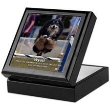 """Wyatt"" In Memory Keepsake Box"