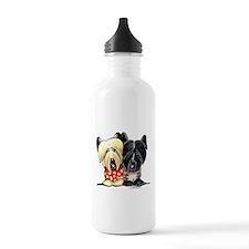 Skye Terrier Sweaters Sports Water Bottle