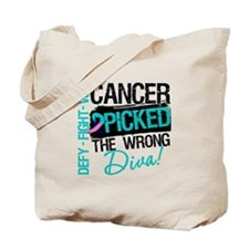 Wrong Diva Thyroid Cancer Tote Bag