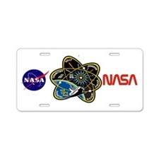 STS-134 Aluminum License Plate